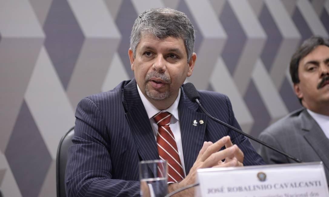 Procurador regional José Robalinho Foto: Jefferson Rudy / Agência Senado