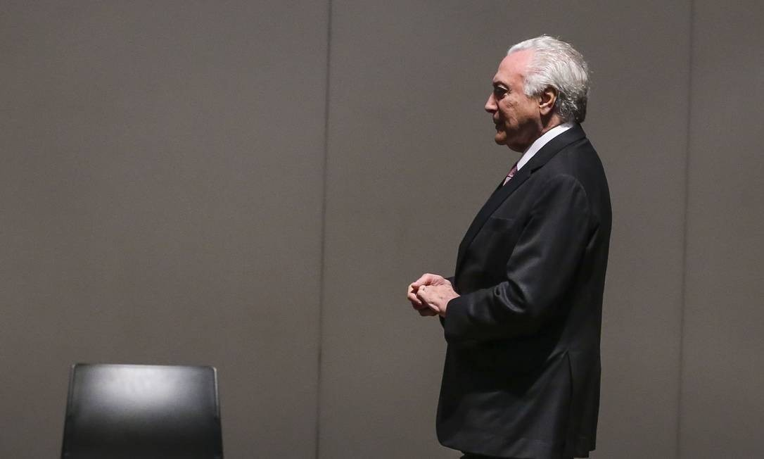 O ex-presidente Michel Temer teve novo pedido de liberdade aceito hoje pela Sexta Turma do Superior Tribunal de Justiça (STJ) Foto: Antonio Cruz / Agência Brasil