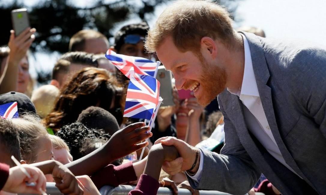 Harry em Oxford Foto: KIRSTY WIGGLESWORTH / AFP
