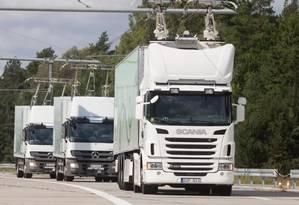 Siemens iniciou o projeto em 2010 com uma pista de testes nos arredores de Berlim Foto: Reprodução - Siemens AG