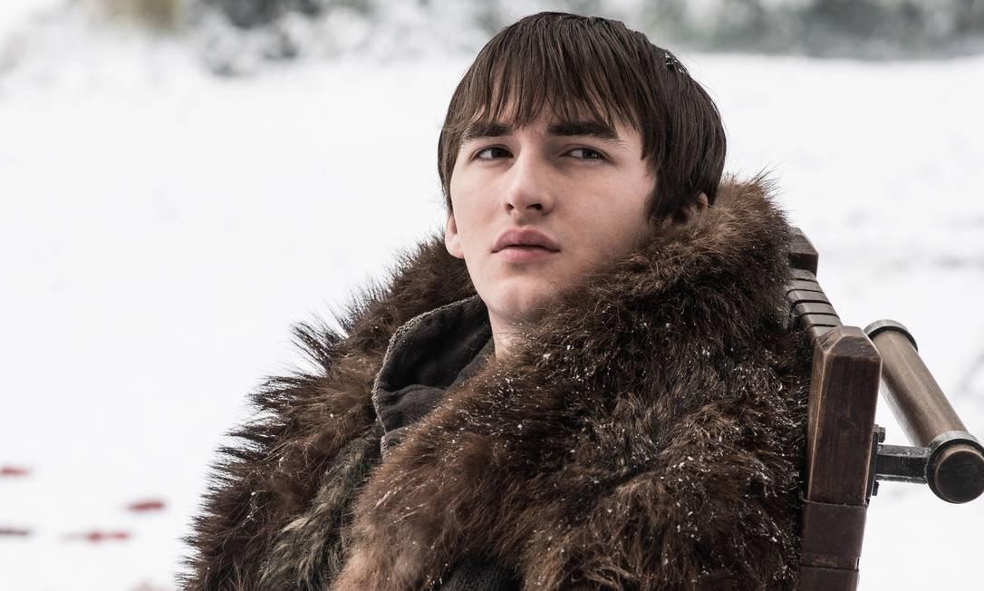 Isaac Hempstead-Wright (Bran Stark) em 'Game of thrones' Foto: Divulgação