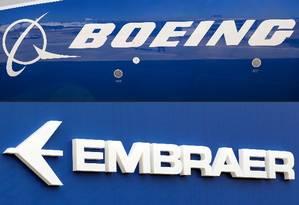 Vice-presidente acredita que parceria com a Boeing vai aumentar as vendas dos aviões comerciais da Embraer Foto: Montagem