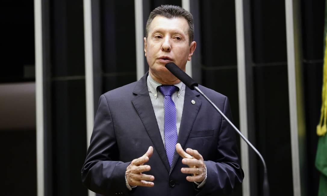 O deputado José Nelto (Podemos-GO) discursa no plenário da Câmara Foto: MJS / Michel Jesus/Câmara dos Deputados