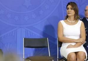 Fabrício Queiroz afirmou ter dado dez cheques, no valor total de R$ 40 mil, à Michelle Bolsonaro Foto: Jorge William / Agência O Globo