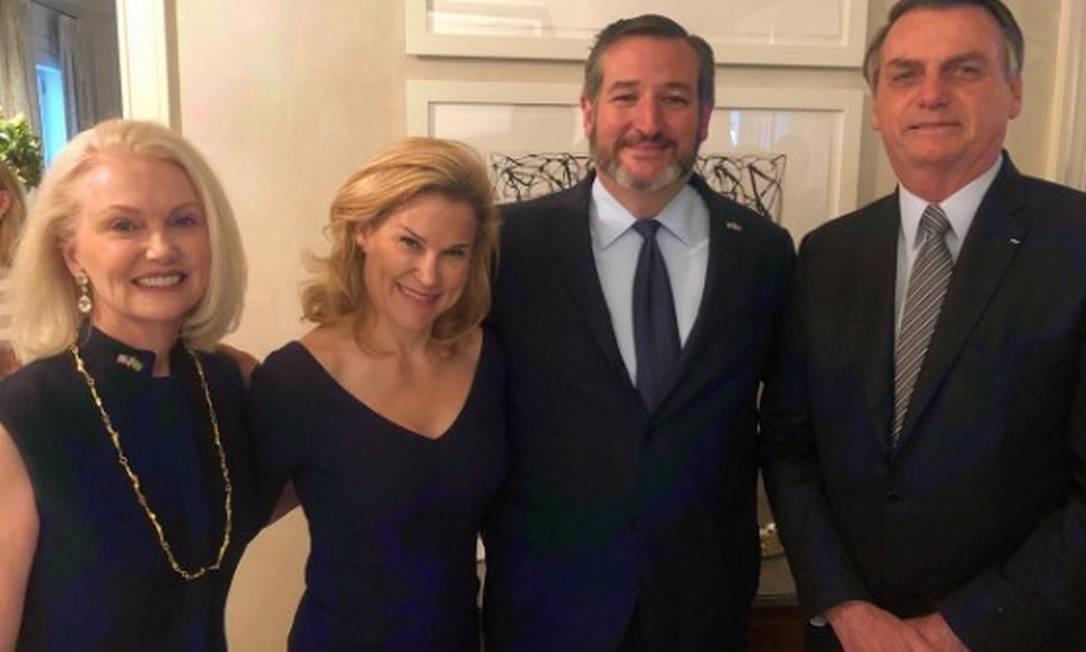 """""""Nós estendemos a mão da amizade"""", disse o senador Ted Cruz pelo Twitter Foto: Reprodução Twitter"""