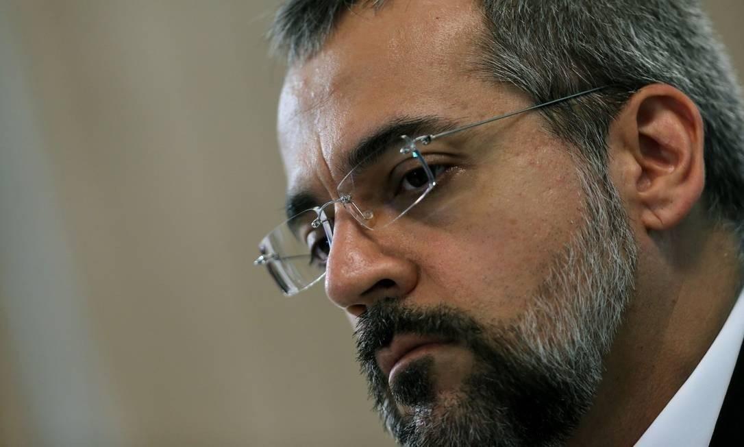 O ministro da Educação, Abraham Weintraub: convocado para sabatina na Câmara Foto: Jorge William / Agência O Globo