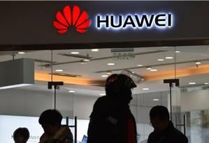 A Huawei é a maior fabricante de equipamentos para a infraestrutura de redes Foto: AFP