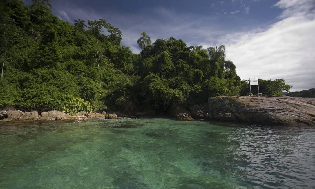 Na Ilha do Algodão, mais águas cristalinas Foto: Márcia Foletto / Agência O Globo