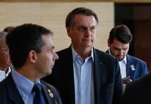 O presidente Jair Bolsonaro em Dallas, no Texas Foto: PR