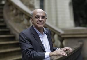O ex-presidente do Flamengo, Eduardo Bandeira de Mello Foto: Marcos Ramos / Agência O Globo