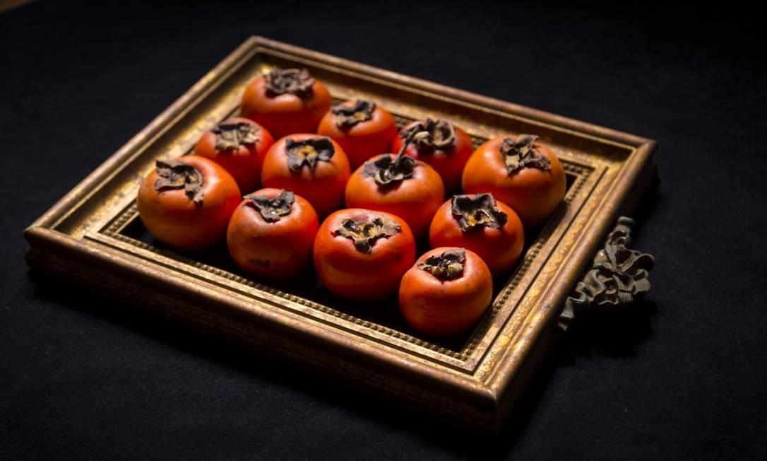 Caqui, a fruta do outono Foto: Leo Martins
