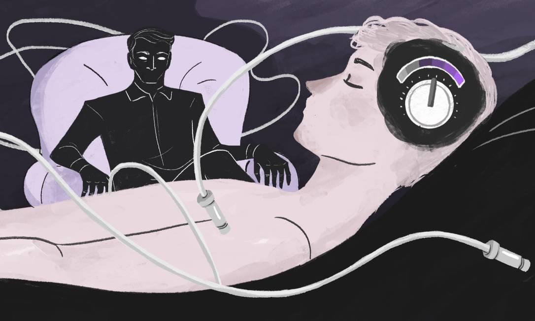 """Submetido pelos pais ao tratamento chamado de """"cura gay"""", homem foi abusado pelo próprio terapeuta Foto: Arte de Nina Millen"""