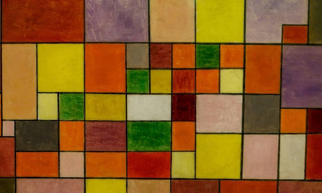 Vaga de professor em Bauhaus potencializa 'fase geométrica' de Paul Klee Foto: Agência O Globo/Roberto Moreyra