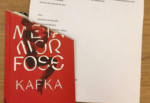 Livraria enviou obra sem um pedaço para o ministro Foto: Reprodução