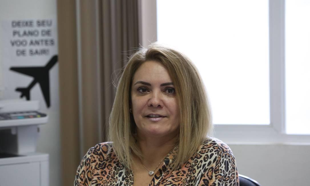 Ana Cristina Valle, ex-mulher de Jair Bolsonaro: nove parentes dela serão investigados pelo MP em caso que envolve possível esquema de 'rachadinhas' no gabinete do filho do presidente Foto: Custódio Coimbra / Agência O Globo