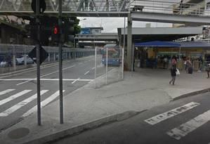 O Terminal Paulo da Portela, em Madureira Foto: Google Street View / Reprodução