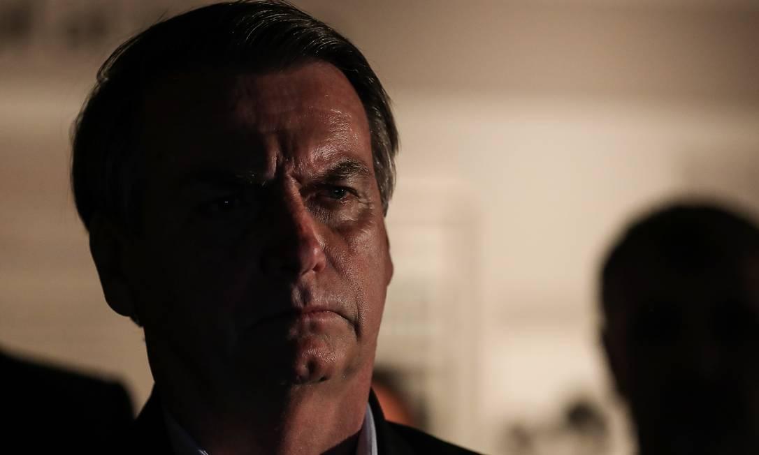 O presidente Jair Bolsonaro Foto: Agência O Globo