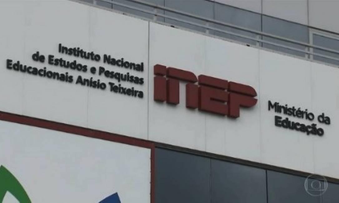 Instituto Nacional de Estudos e Pesquisas Educacionais Anísio Teixeira (Inep) Foto: Reprodução TV Globo