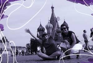Taciana e Fernanda rodaram por 24 países Foto: divulgação
