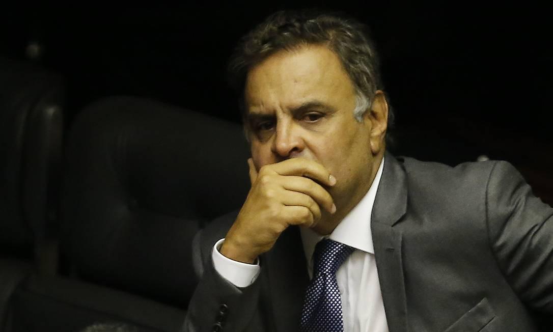 O deputado federal, Aécio Neves (PSDB-MG) 01/02/2019 Foto: Jorge William / Agência O Globo