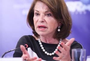 Maria Helena avalia que MEC deve adotar 'estratégia de aproximação' com o Ministério da Economia e as universidades Foto: Divulgação/Mariana Leal/MEC