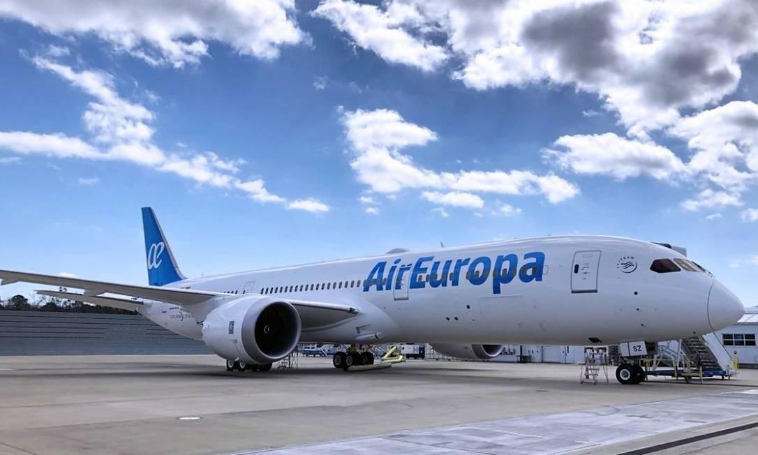 Grupo Globalia, dono da Air Europa, é espanhol Foto: Divulgação