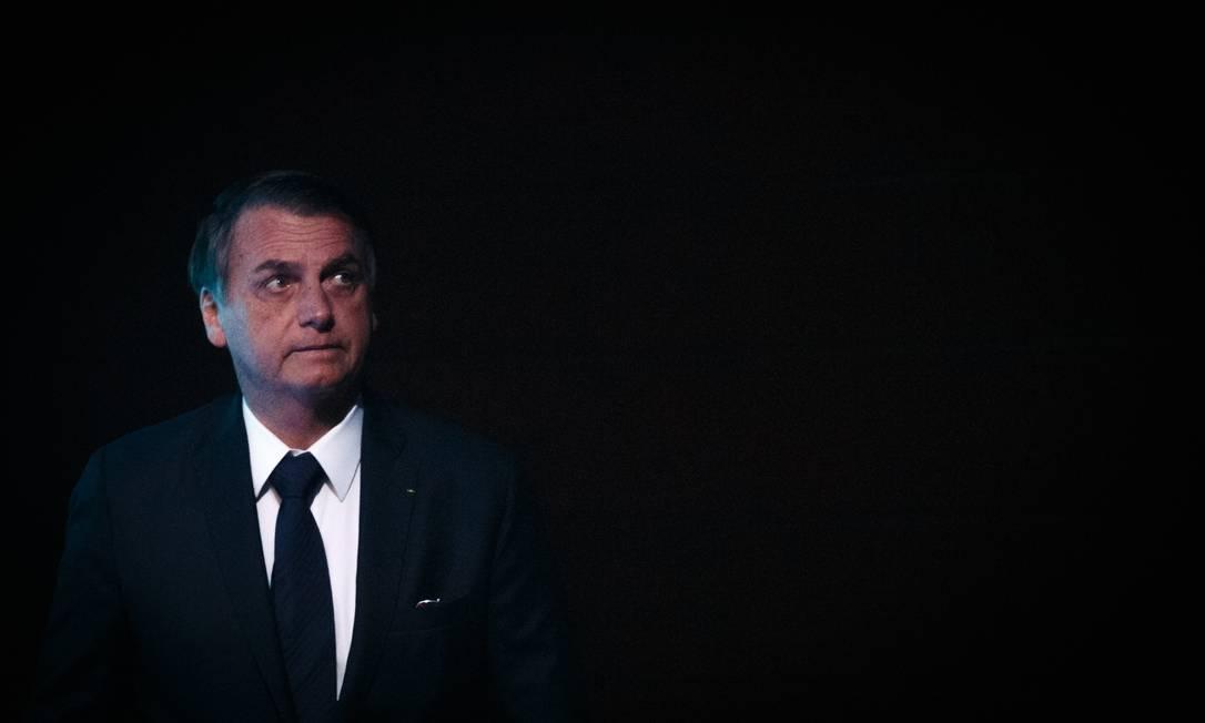 O presidente Jair Bolsonaro em Brasília Foto: Daniel Marenco / 10/05/2019 / Agência O Globo