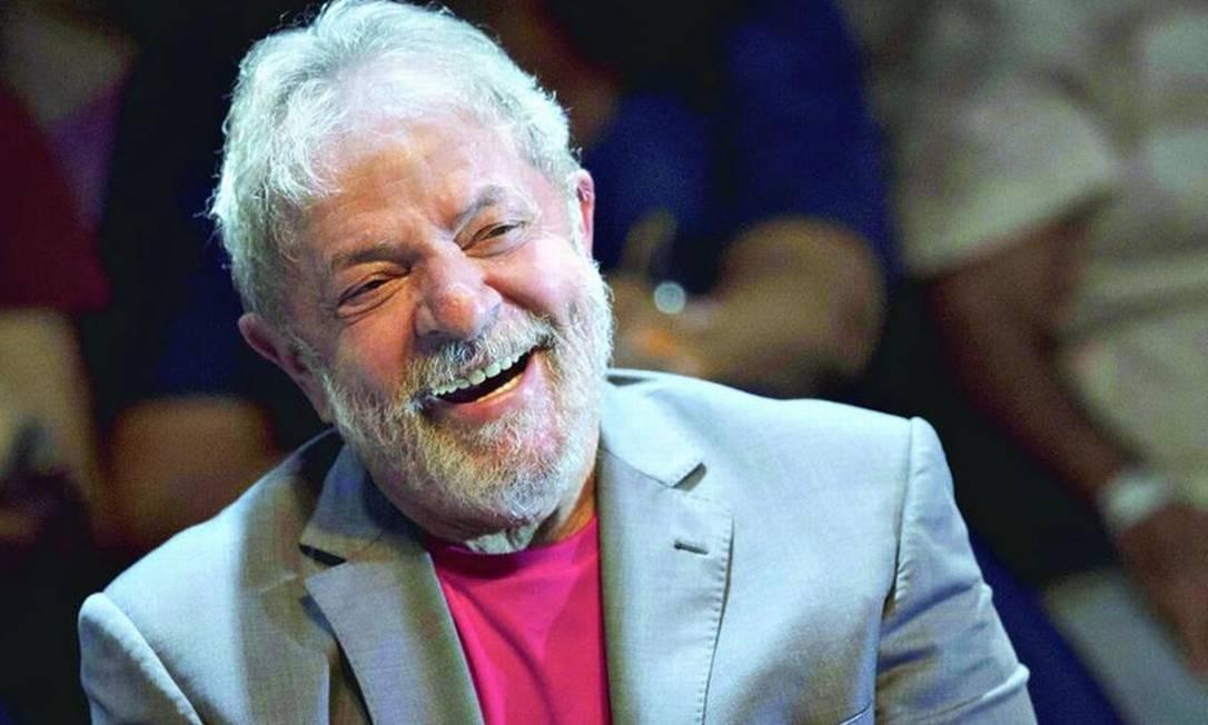 Lula está apaixonado Foto: Reprodução / Arquivo