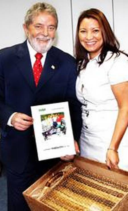 Lula e Janja, em visita do então presidente a Itaipu Binacional Foto: Divulgação / Itaipu
