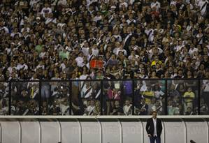 Vanderlei Luxemburgo, técnico do Vasco Foto: Alexandre Cassiano / Agência O Globo