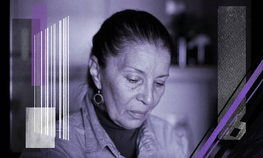 Documentário 'Haydée e o Peixe Voador' conta a história de ativista sequestrada pela ditadura chilena Foto: Arte de Nina Millen sobre foto de arquivo pessoal
