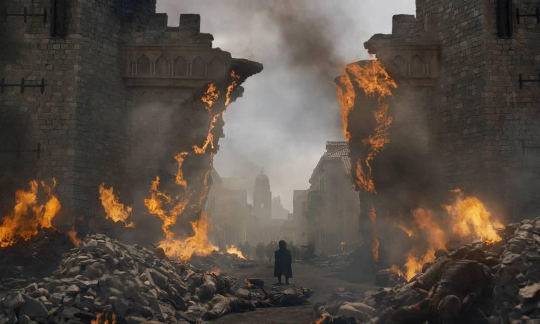 'Game of thrones' põe fim às guerras com desfecho melancólico