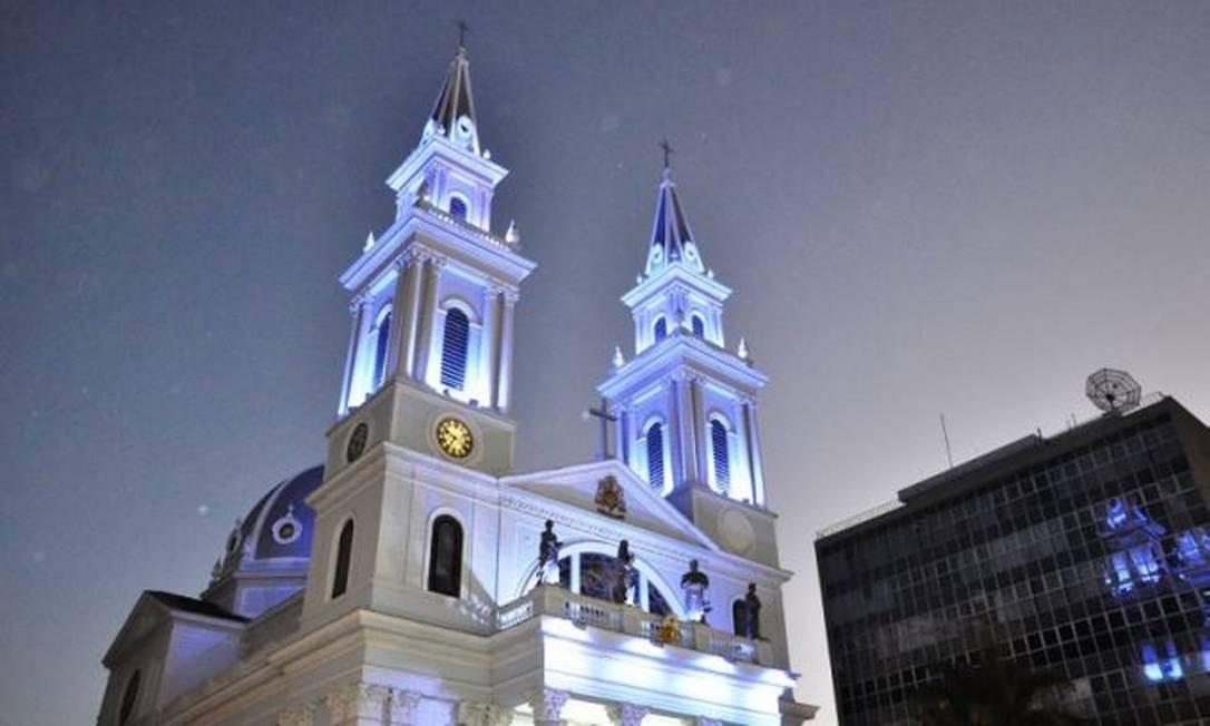 Catedral do São Salvador, em Campos dos Goytacazes Foto: Divulgação / Facebook