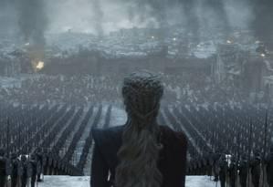 'Game of thrones': para boa parte da crítica, final deixou a desejar Foto: Divulgação
