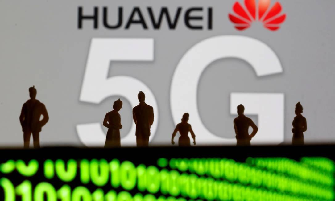 Huawei: restrições adiadas para beneficiar empresas americanas que já usam seus sistemas. Foto: Dado Ruvic / REUTERS