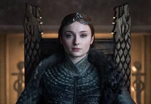 Sansa coroada como a Rainha do Norte Foto: Divulgação/HBO