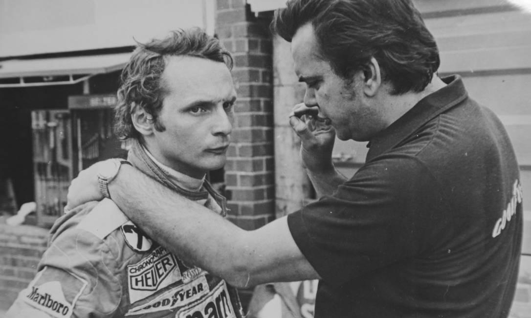 Arquivo Julho de 1976, Piloto austríaco Niki Lauda Foto: Arquivo / AOG