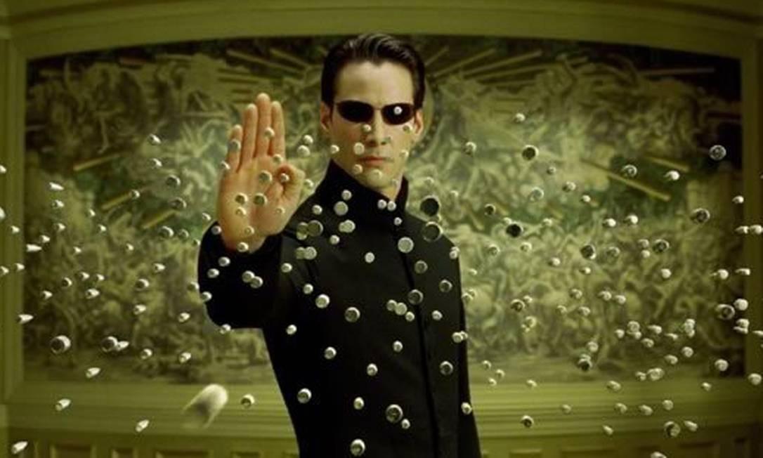 Keanu Reeves interpreta o hacker Neo em 'Matrix' Foto: Divulgação