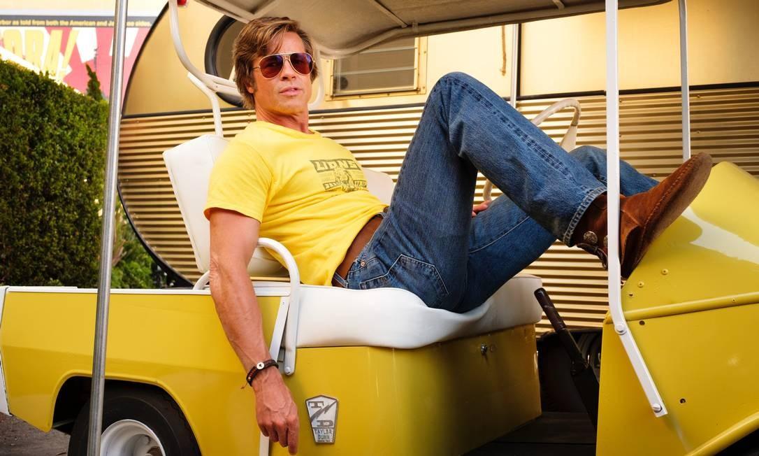Brad Pitt estrela o filme de Tarantino Foto: Brad Pitt estrela o filme de Tarantino / Divulgação/Andrew Cooper