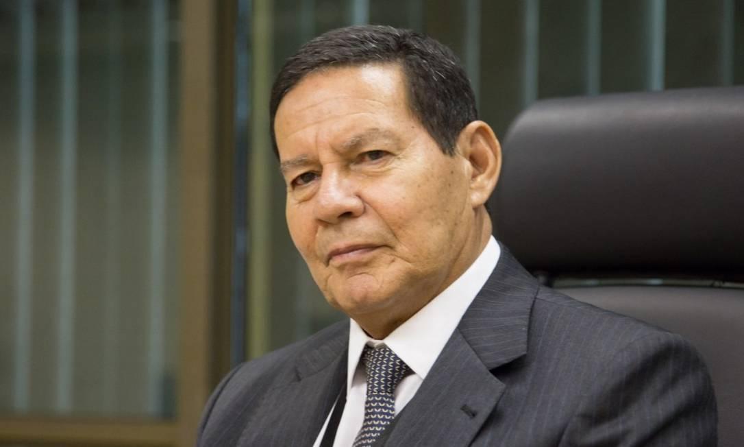 O vice-presidente Hamilton Mourão cumpre viagem oficial na China Foto: Divulgação/Presidência da República