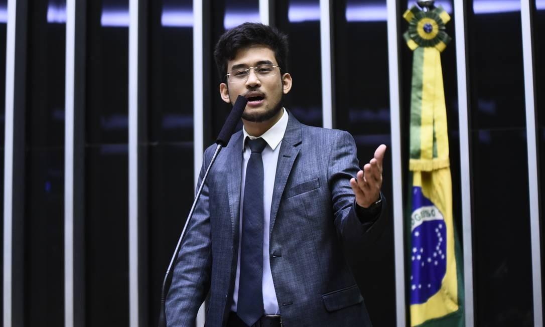 O deputado federal Kim Kataguiri (DEM-SP) 05/02/2019 Foto: Agência O Globo