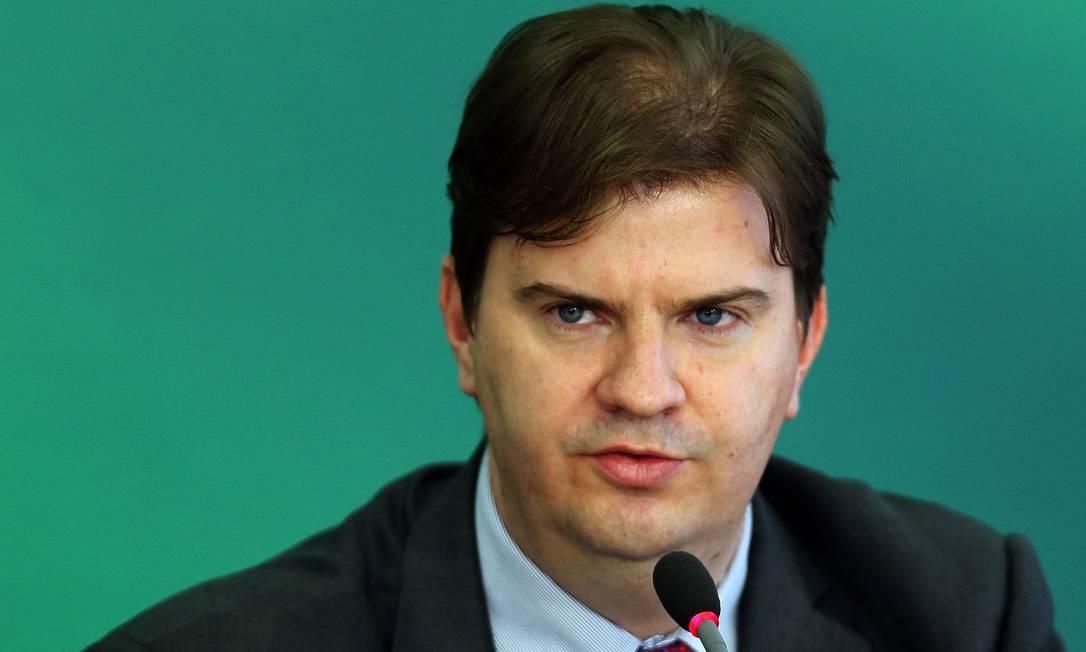 Regional Development Minister Gustavo Canuto was released in February and transferred to the Datapreva presidency Photo: Jorge William / Agência O Globo