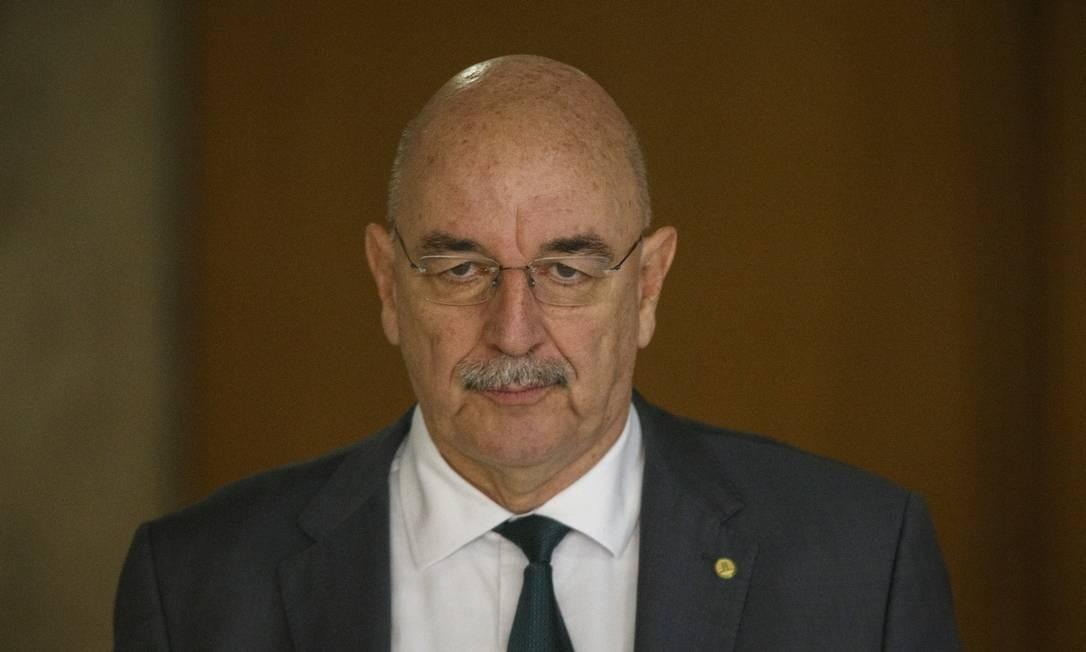 Ministro da Cidadania, Osmar Terra Foto: Daniel Marenco / Agência O Globo