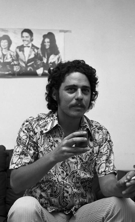 Chico Buarque em foto de julho de 1972 Foto: Sérgio de Souza / Agência O Globo