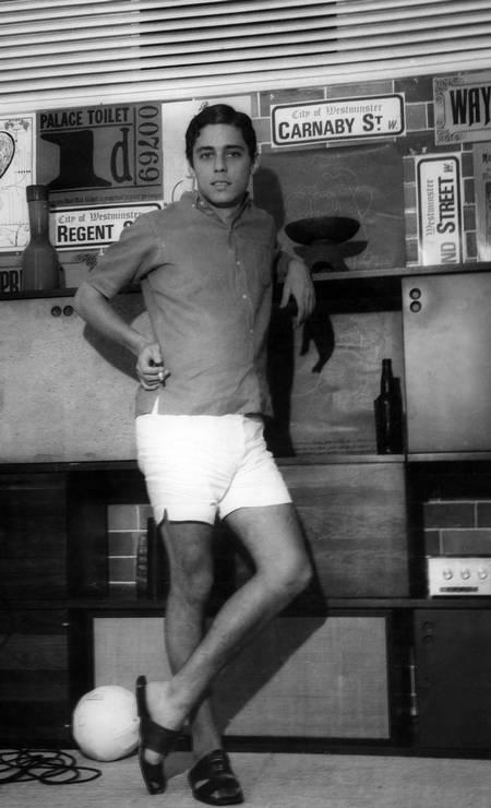 Chico Buarque de Holanda em foto de 1967 Foto: Renato de Souza Pereira / Arquivo O Globo / Agência O Globo