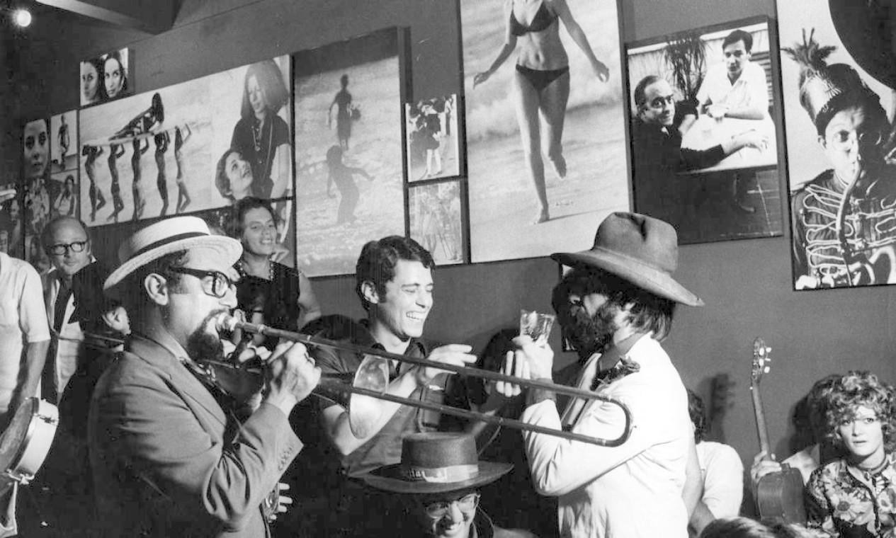 Homenagem a Chico Buarque, em março de 1970 Foto: Agência O Globo