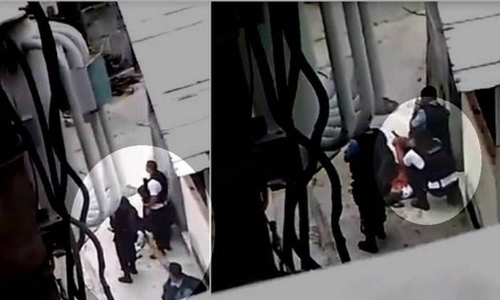 PMs alteraram cena do crime no Morro da Providência, em 2015 Foto: Reprodução