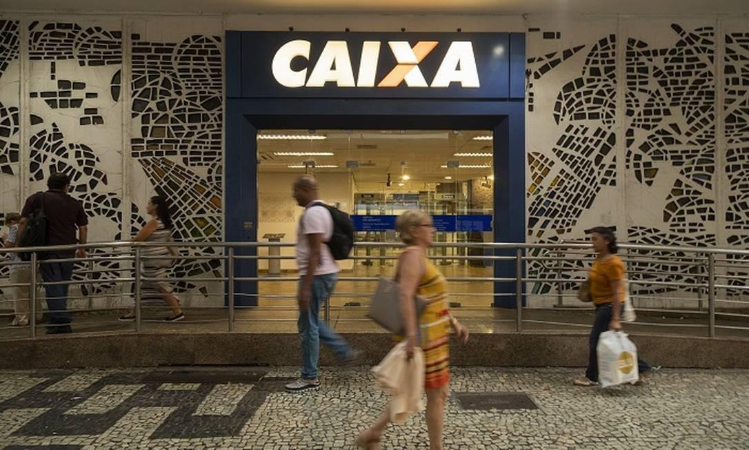 Caixa: renegociação de dívidas. Foto: Gabriel Monteiro / Agência O Globo