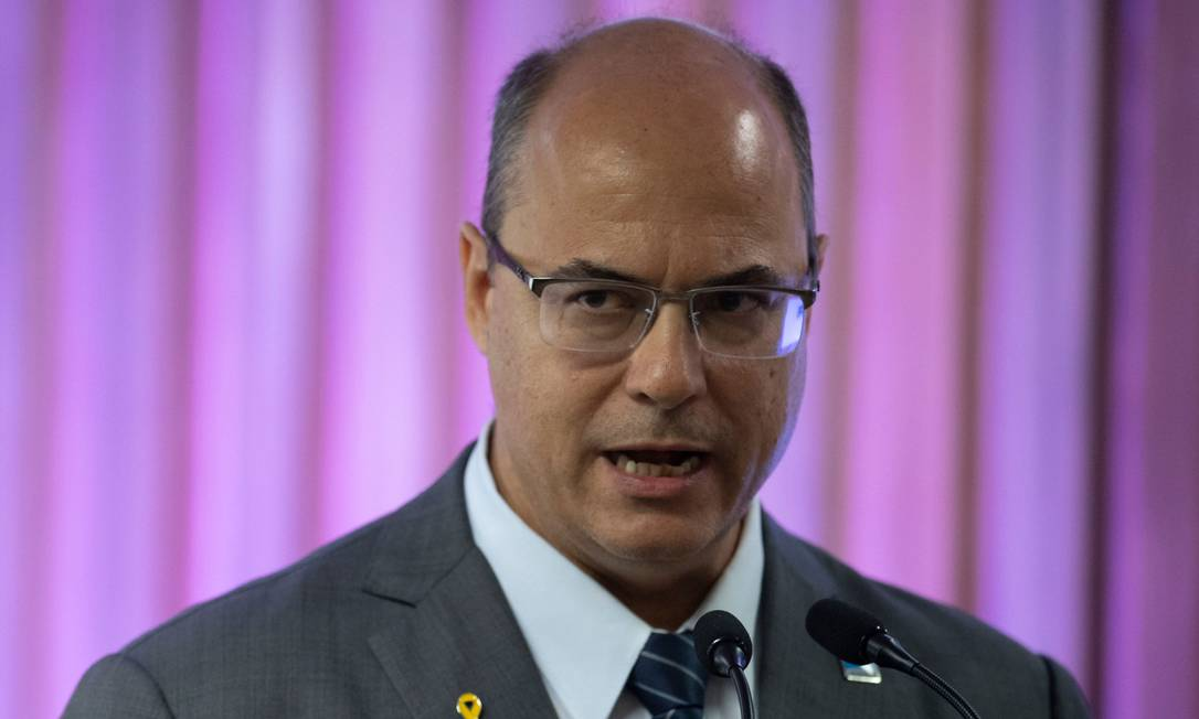 Governador do Rio, Wilson Witzel Foto: Mauro Pimentel / AFP