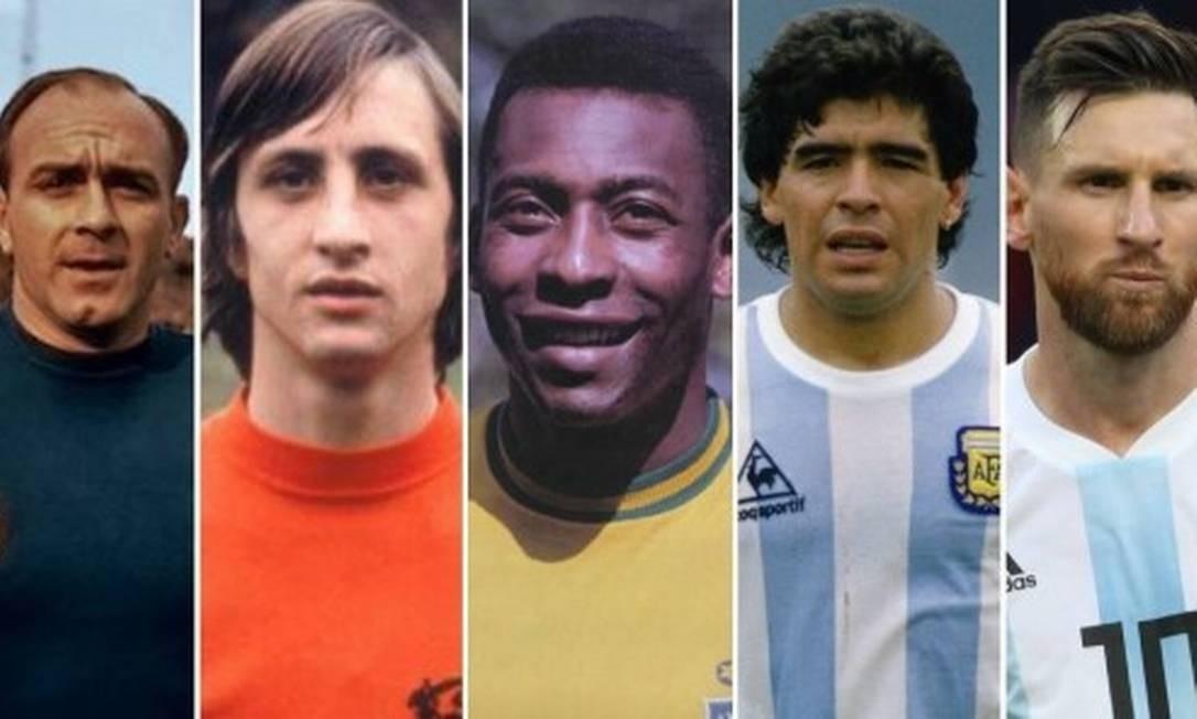 Messi entre os cinco melhores da história, segundo Menotti Foto: Reprodução